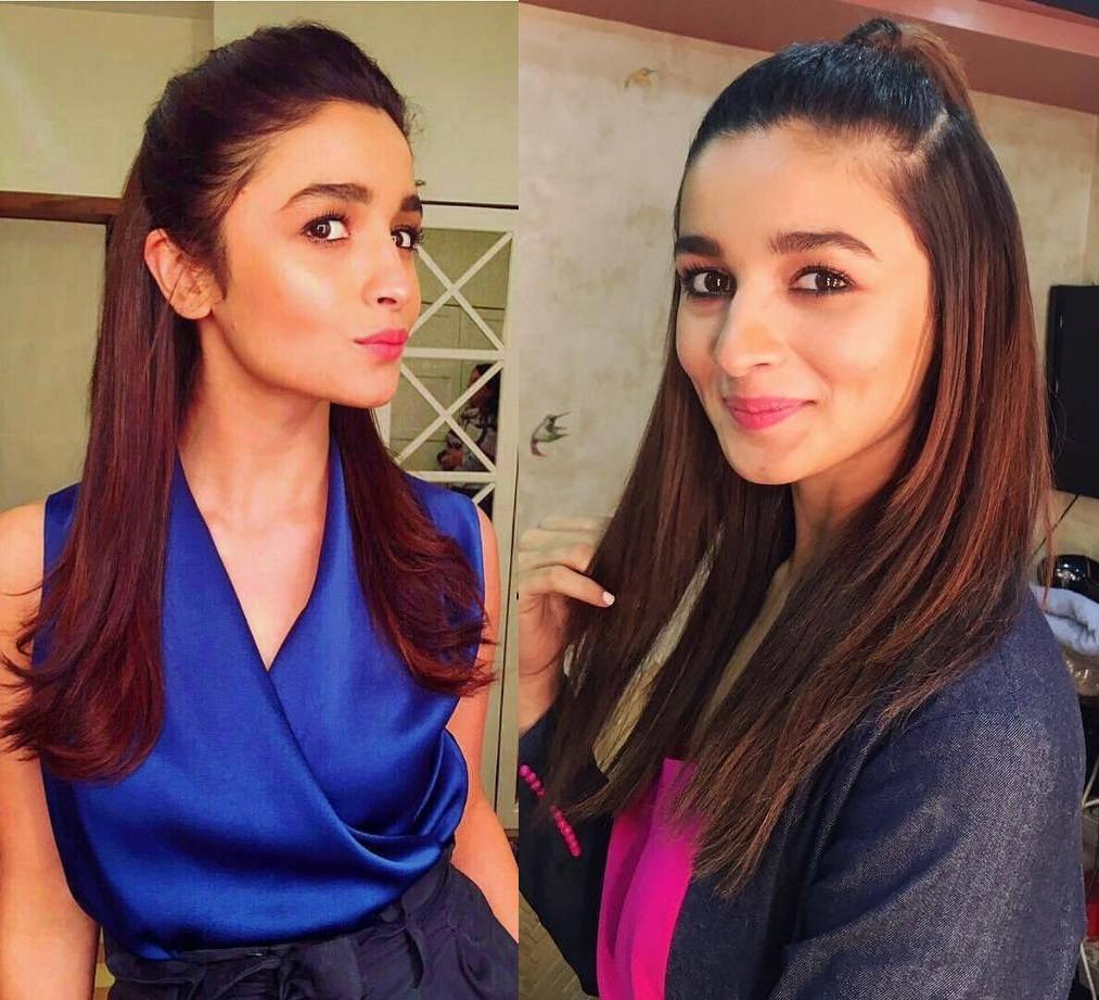 Alia Bhatt hairstyle