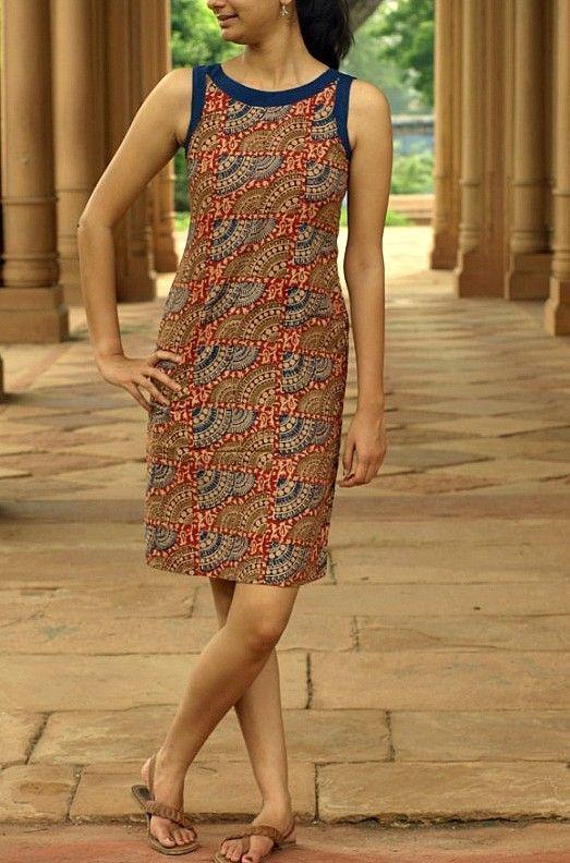 Straight kalamkari dress