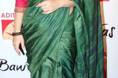 Vidya Balan in handloom saree