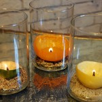 Homemade Citrus Peel Candle