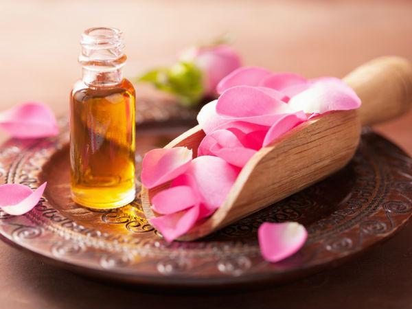 DIY rose oil for skin and hair