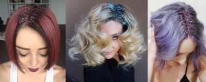 Glitter for short hair