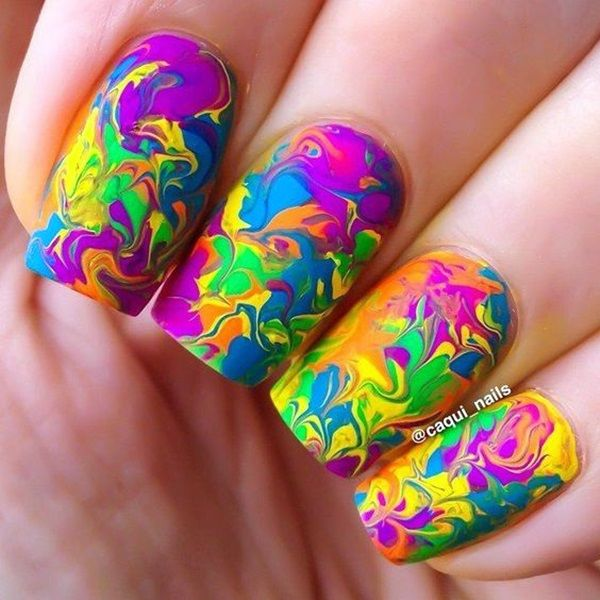 5 Interesting Nail Art Designs For Holi | Threads