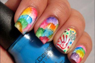 5 Interesting Nail Art Designs For Holi
