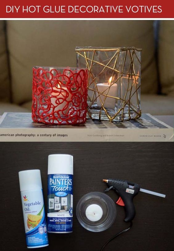 Hot glue DIY