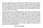 Jahnvi kappor Letter
