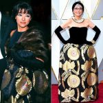 Rita Monero Revives Her Old Dress For 90th Academy Awards