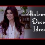 Balcony Decoration Ideas By Twinkle Khanna
