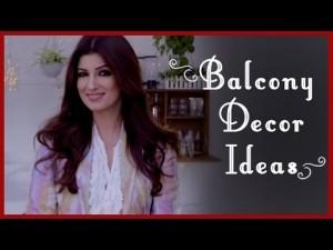 Balcony Decor ideas by Twinkle Khanna