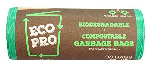Biodegradable and compostable dustbin bag