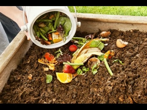 Creating Kitchen compost