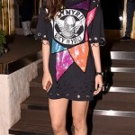 Kriti Sanon in T-shirt dress