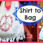 No Sew T Shirt Bag