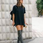 Wear T-Shirt Dresses To Beat The Heat In Style