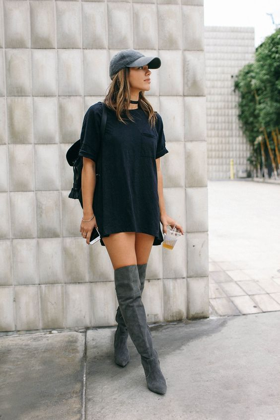 T-shirt dress for summers