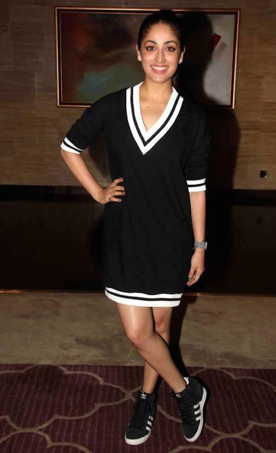 Yami Gautam in T shirt dress