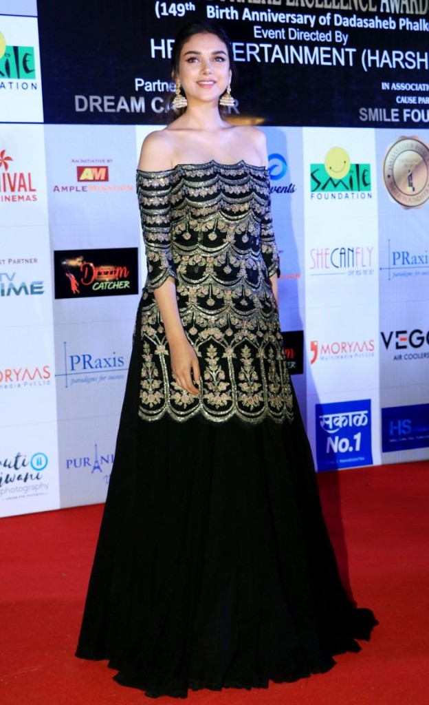 Aditi rao hydari at Dadasaheb Phalke awards