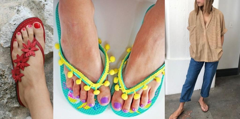 Flip flops for summers