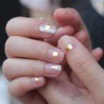 Give A Touch Of Gold To Your Regular Nail Art Designs