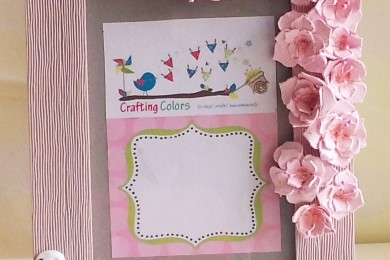 Two Ways To Create Handmade Mother's Day Photo Frame