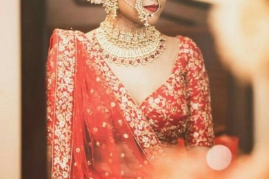 Indian brides without maatha palla