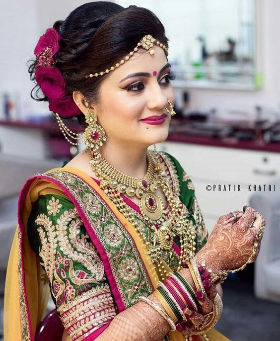 Indian Hair Style For Wedding: Latest Fashion Trends, Bridal Fashion