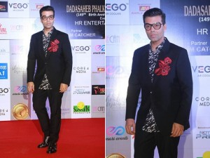 Karan Johar at Dadasaheb Phalke awards
