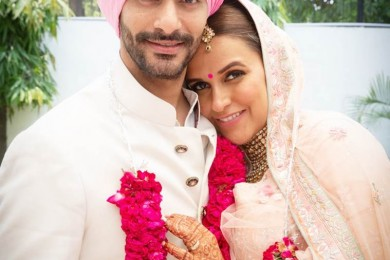 Neha Dhupia And Angad Bedi Wedding