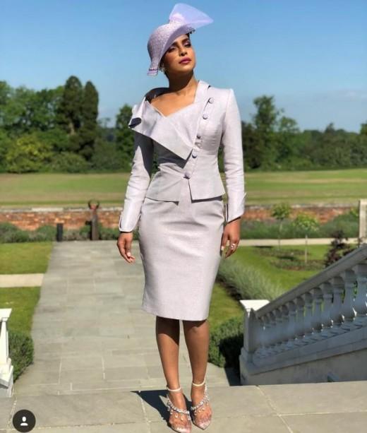 Priyanka chopra at the royal wedding