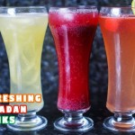 3 Refreshing Ramadan Drinks