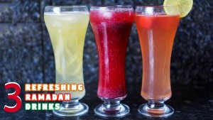 Refreshing Ramadan drinks