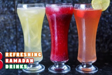 3 Refreshing Ramadan Drinks