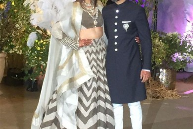 Sonam Kapoor and Anand Ahuja's wedding reception
