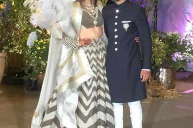 Sonam Kapoor and Anand Ahuja's wedding reception