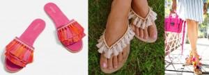 Tassel summer footwear