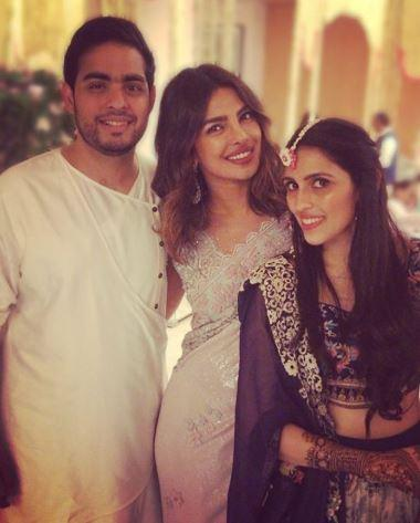 Akash Ambani and Shloka Mehta Pre Engagement Mehndi Ceremony