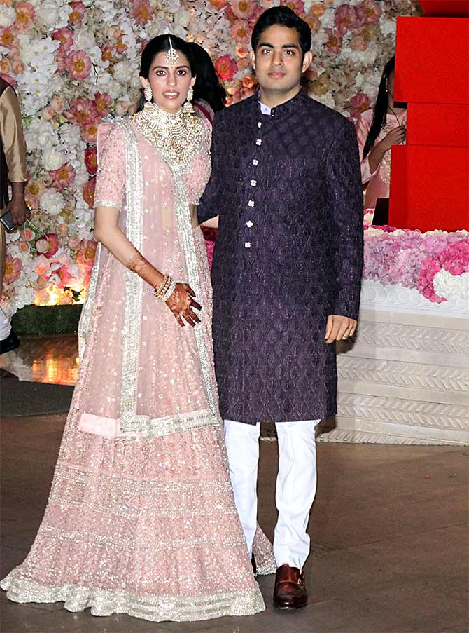 Akash Ambani and Shloka Mehta pre engagement party