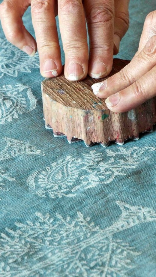 Block printing at home