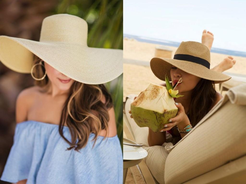 Floppy hat summer beach hat
