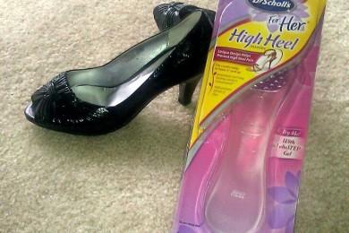 Gel insoles for high heels