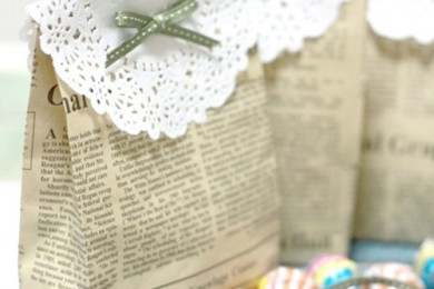 Reuse And Turn Old Newspaper Into Perfect Packaging Material