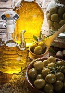 Olive oil for fighting wrinkles