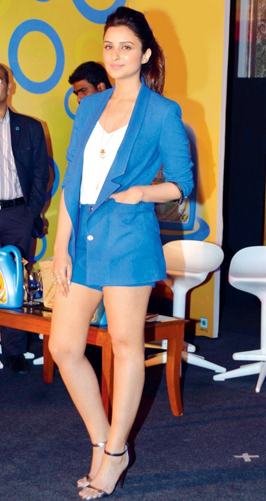 Parineeti chopra in shorts