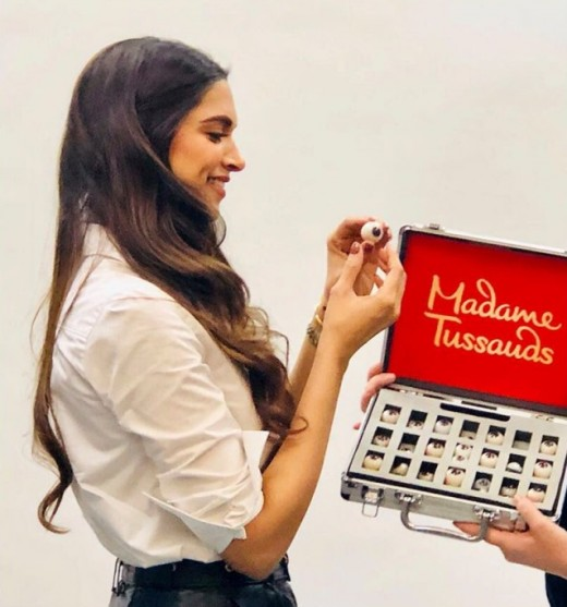 Deepika Padukone at Madame Tussauds