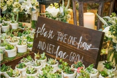 Affordable DIY Wedding Favors