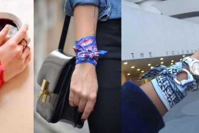 Scarf as a bracelet-Threads-WeRIndia