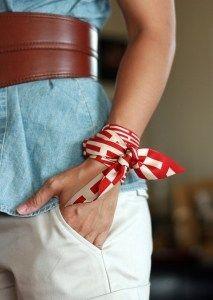 Twilly scarf bracelet