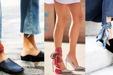 scarf as a foot accessory-Threads-WeRIndia