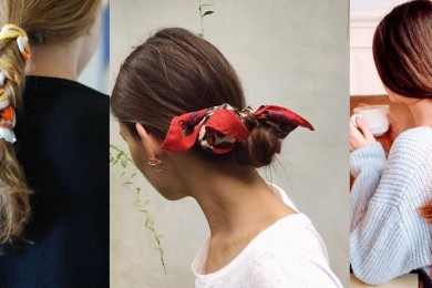 scarf as a head accessory-Threads-WeRIndia