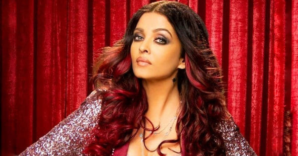 Aishwariya Rai in red hair color